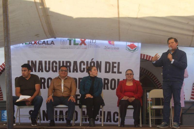 Inauguramos el Centro de Desarrollo Juvenil en Santiago Michac