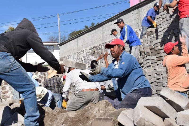 Concordia, Primera Comunidad en 2020 Beneficiada con Faena Comunitaria