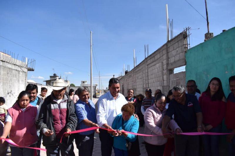 Inauguramos Calle Xicohténcatl en Santiago Michac
