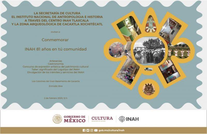 Conmemoración: INAH 81 Años en tu Comunidad