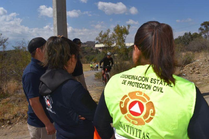 """Protección Civil Brinda Apoyo en """"Reto Val'Quirico 2020"""""""